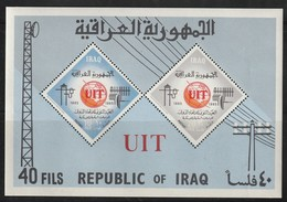 IRAQ / IRAK -  Bloc N°7 ** (1965)  Centenaire De L'U.I.T - Iraq