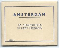 LOT DE 10 PHOTOS / AMSTERDAM / 10 SNAPSHOTS IN ECHTE FOTOGRAFIE / PETIT FORMAT - Lieux