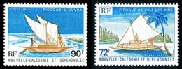 NOUV.-CALEDONIE 1987 - Yv. 535 Et 536 **   Faciale= 1,36 EUR - Pirogues Ile Des Pins Et Ouvea (2 Val.)  ..Réf.NCE25246 - Neufs