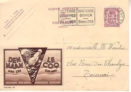 Publibel 418 Den Haan - Le Coq - Voyagé En 1939 - Publibels