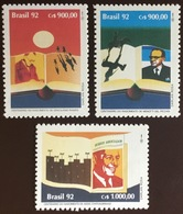 Brazil 1992 Book Day MNH - Brazilië