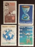 Brazil 1992 4 Commemorative Sets MNH - Brazilië