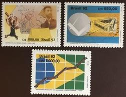 Brazil 1992 3 Commemorative Sets MNH - Brazilië