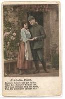 SC 027  OLD POSTCARD , SCENES , FANTASY , HUMOR  , SOLDIERS - Fancy Cards