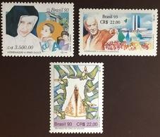 Brazil 1993 3 Commemorative Sets MNH - Brazilië