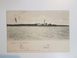 Croatia Istrien Istria Salvore Savudrija Faro Lighthouse 1901. - Kroatien