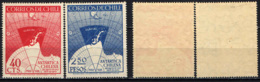 CILE - 1947 - Map Showing Chile's Claims Of Antarctic Territory - MH - Chile