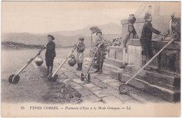 20. TYPES CORSES. Porteurs D'Eau à La Mode Grecque. 25 - Francia