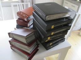 BRD FDC Sammlung 1961 - 2002 90er In 13 Belege Alben! Hunderte FDC / Sonderbelege 90er Jahre Echt Gelaufen Aus Borek Abo - Stamps