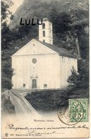 SUISSE : Précurseur Taxé : Roveredo Chiesa ; édit. Kunzli-Tobler N° 2477 A Zurich - GR Graubünden