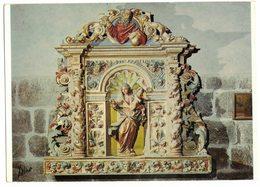 Type CPA EGLISE DE VILLEFRANCHE DE CONFLENT RETABLE NOTRE DAME DE VIE IMAGE PIEUSE RELIGIEUSE HOLY CARD SANTINI HEILIG - Imágenes Religiosas