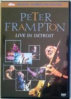 DVD PETER FRAMPTON Live In Detroit - DVD Musicaux