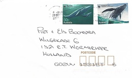 Australia 2000 Buddina WWF Blue Whale Humpback Cover - W.W.F.