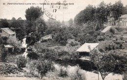 CPA PONTCHATEAU - VALLEE DU BRIVET DEVANT LA GARE - Pontchâteau