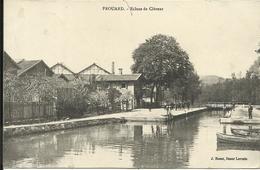 * FROUARD , Ecluse De Clévent , 1915 , CPA ANIMEE - Frouard