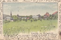 Gruss Aus Altweier Aubure 1906 - Frankrijk