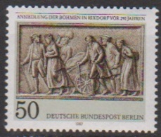 Berlin 1987 Mi-Nr.784  ** Postfr. Ansiedlung Der Böhmen In Rixdorf Vor 250 Jahren ( B2604 ) Günstige Versandkosten - Ongebruikt