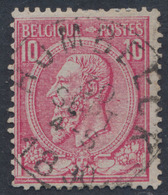 "émission 1884 - N°46 Obl Simple Cercle ""Hombeeck"". TB / COBA : 15 - 1884-1891 Léopold II"