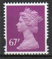 Great Britain Decimal Machin 67p Définitive Stamp. - 1952-.... (Elizabeth II)