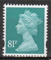 Great Britain Decimal Machin 81p Définitive Stamp. - 1952-.... (Elizabeth II)