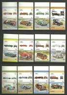 Tuvalu 1987 Cars, Talbot, Du Pont, Chevrolet, Shelby Mustang, Ferrari, Peerless, Sunbeam, Matra-Ford, Mi 434-457 MNH(**) - Tuvalu