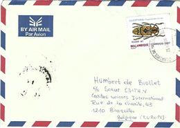 Mocambique 1998 Maputo Beetle Tragocephala Ducalis Insect Cover - Otros