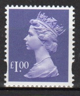 Great Britain Decimal Machin £1 Définitive Stamp. - 1952-.... (Elizabeth II)