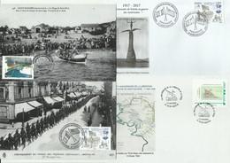 SAINT-NAZAIRE, Lot De Souvenirs Philatéliques - Covers & Documents