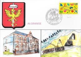 70 èME ANNIVERSAIRE DU CLUB PHILATELIQUE DE ALGRANGE 1997 - Gedenkstempel