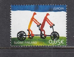 Finland 2006 - EUROPA: Integration, Mi-Nr. 1810, MNH** - Unused Stamps