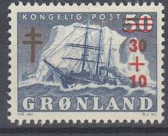 +Greenland 1958. AFA 40. MNH(**) - Ongebruikt