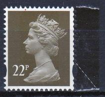Great Britain Decimal Machin 22p Définitive Stamp. - 1952-.... (Elizabeth II)