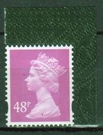 Great Britain Decimal Machin 48p Définitive Stamp. - 1952-.... (Elizabeth II)