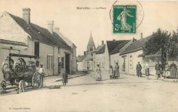 BARVILLE LA PLACE  AVEC MACHINE AGRICOLE EDITION LANGUILLE - Other Municipalities