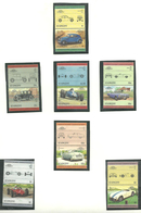 St. Vincent 1985 Cars, Lancia , Essex Coach, Eagle-Weslake, Pontiac GTO, Nash Rambler, Ferrari, Mi 798-803  MNH(**) - St.Vincent (1979-...)