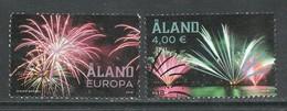 Aland, Yv 460-61  Jaar 2018, Reeks, Gestempeld - Aland