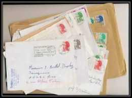 13051 Lot De 30 Lettres TYPE LIBERTE (lettre Enveloppe Courrier) Voir Photos - France