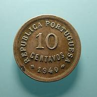 Portugal 10 Centavos 1940 Clean - Portugal