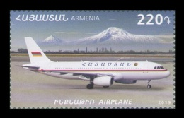 Armenia 2019 Mih. 1140 Aviation. Plane MNH ** - Armenia