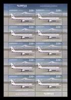 Armenia 2019 Mih. 1140 Aviation. Plane (M/S) MNH ** - Armenien