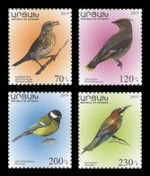 Armenia (Nagorno-Karabakh) 2019 Mih. 209/12 Definitive Issue. Fauna. Birds MNH ** - Armenia