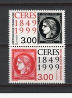 FRANCE - Y&T Paire N° 3212A** - MNH - 150ème Anniversaire Du 1er Timbre-poste Français - France