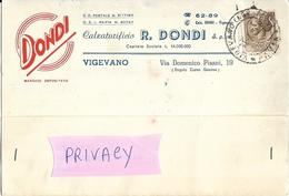 Lombardia Vigevano Calzaturificio R.dondi Via Domenico Pisani Vigevano Pubblicita Calzaturificio Anni 50 (v.retro) - Pubblicitari