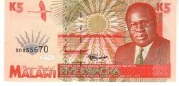 Malawi P.30 5 Kwacha 1995 Unc - Malawi