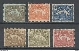 MADAGASCAR - T TAXE - N° Yvert  11+12+13+14+15+16 ** - Madagascar (1889-1960)