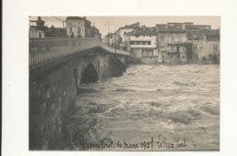 47 // VILLENEUVE SUR LOT  10 Mars 1927 / INONDATION   Le Vieux Pont / Photo 18 X 12/ - Villeneuve Sur Lot