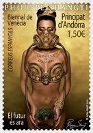 SPANISH ANDORRA, 2019, MNH, ART, VENICE BIENNALE, GODDESS OF OXYGEN,1v - Art