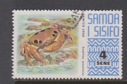 Samoa S 372 1972 Marine Life,4s Painted Crab, Used - Marine Life
