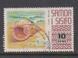 Samoa S 375 1972 Marine Life,10s Triton Shell, Used - Marine Life