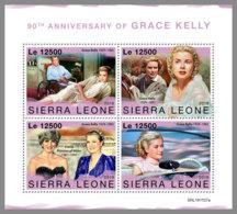 SIERRA LEONE 2019 MNH Grace Kelly Princess Diana M/S - OFFICIAL ISSUE - DH1951 - Berühmt Frauen